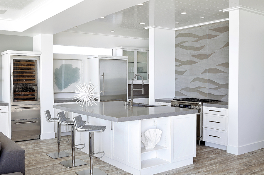 kitchen Caesarstone